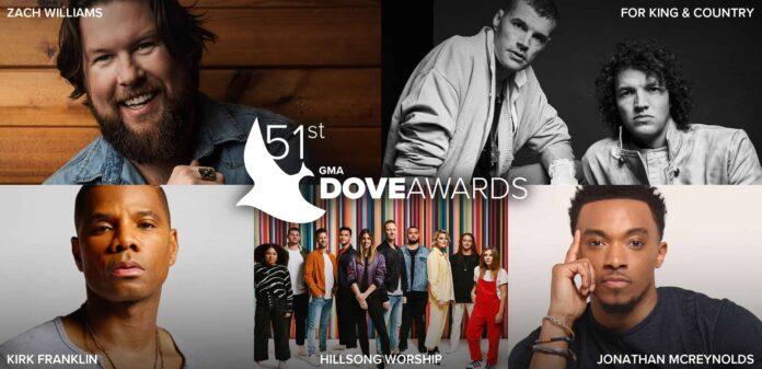 Dove Awards 2020 || Nominee Announcement || Praizenation.com